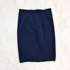 Reiss Textured Knit Bodycon Pencil Skirt